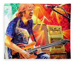 Trey Anastasio Squared Fleece Blanket