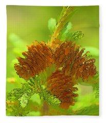 Tri Cones Fleece Blanket