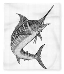 Tribal Marlin IIi Fleece Blanket