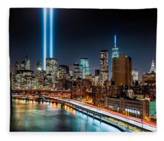 Tribute In Light Memorial Fleece Blanket