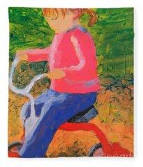 Tricycle Fleece Blanket