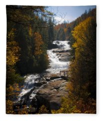 Triple Falls Fleece Blanket