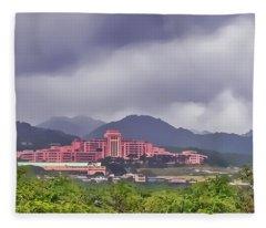 Tripler Army Medical Center Fleece Blanket
