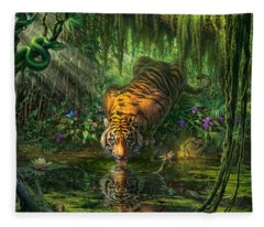 Jungle Fleece Blankets