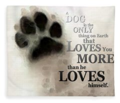 True Love - By Sharon Cummings Words By Billings Fleece Blanket