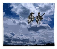 Tucker Boys In The Clouds 2 Fleece Blanket
