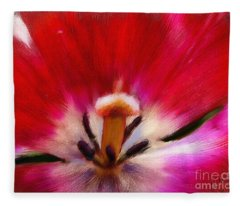 Tulip 7 Fleece Blanket
