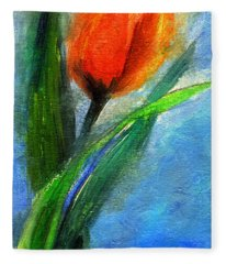 Tulip - Flower For You Fleece Blanket