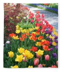 Tulip Path Fleece Blanket