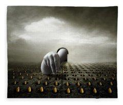 Tulip Thief Fleece Blanket
