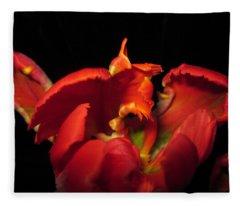 Tulipmelancholy Fleece Blanket