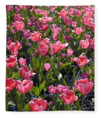 Tulips Fleece Blanket
