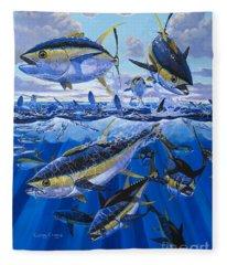 Tuna Rampage Off0018 Fleece Blanket