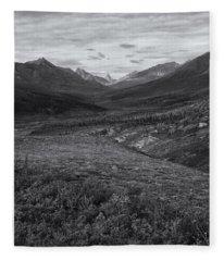 Tundra Valley Fleece Blanket