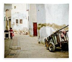 Tunisian Girl Fleece Blanket