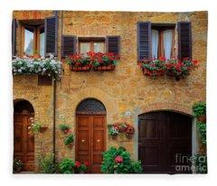 Tuscan Homes Fleece Blanket
