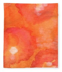 Tuscan Roses Fleece Blanket