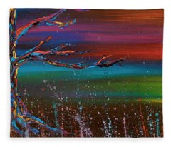 Twilight Sun Fleece Blanket