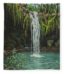 Twin Falls Fleece Blanket