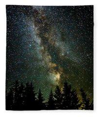 Twinkle Twinkle A Million Stars  Fleece Blanket