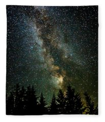 Twinkle Twinkle A Million Stars  Fleece Blanket