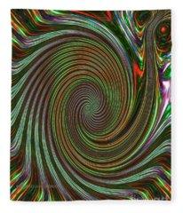 Twirl Fleece Blanket