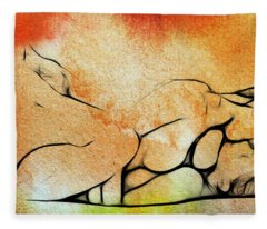 Two Women 2 Fleece Blanket
