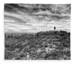 Tybee Island Light Station Fleece Blanket