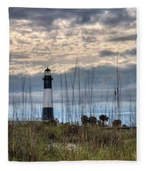 Tybee Light Fleece Blanket