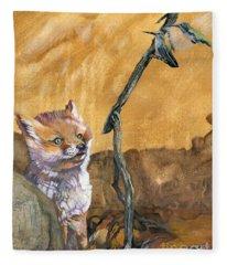 Tyrah's Tale Fleece Blanket