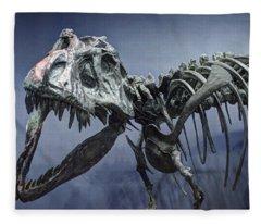 Tyrannosaurus Jane Fleece Blanket
