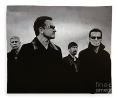 U2 Fleece Blanket