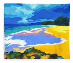 Maui Magic Fleece Blanket