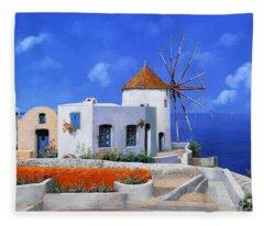Windmill Island Fleece Blankets