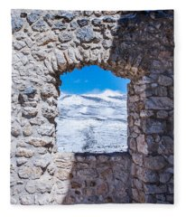 A Window On The World Fleece Blanket