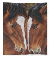 Unbridled Affection Fleece Blanket