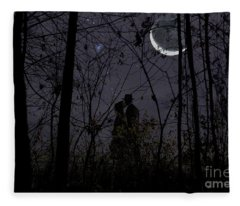 Under Moon Fleece Blanket