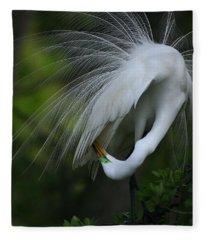 Under My Wing Fleece Blanket