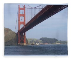 The Golden Gate Bridge San Francisco California Scenic Photography - Ai P. Nilson Fleece Blanket
