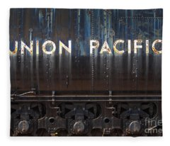Union Pacific - Big Boy Tender Fleece Blanket