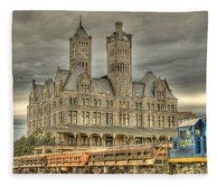 Union Station Fleece Blanket