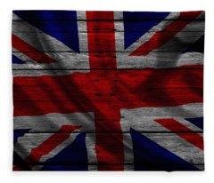 United Kingdom Fleece Blanket