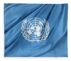 United Nations Fleece Blanket