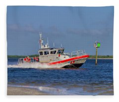 United States Coast Guard Fleece Blanket