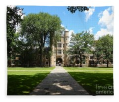 University Of Michigan Law Quad Fleece Blanket