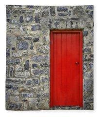 Unlock The Door Fleece Blanket