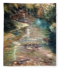 Upstream Fleece Blanket