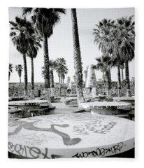 Urban Graffiti  Fleece Blanket