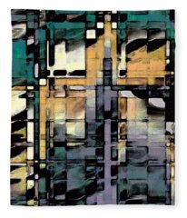 Urban Jungle Fleece Blanket