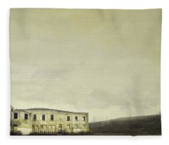 Urban Ruins Fleece Blanket